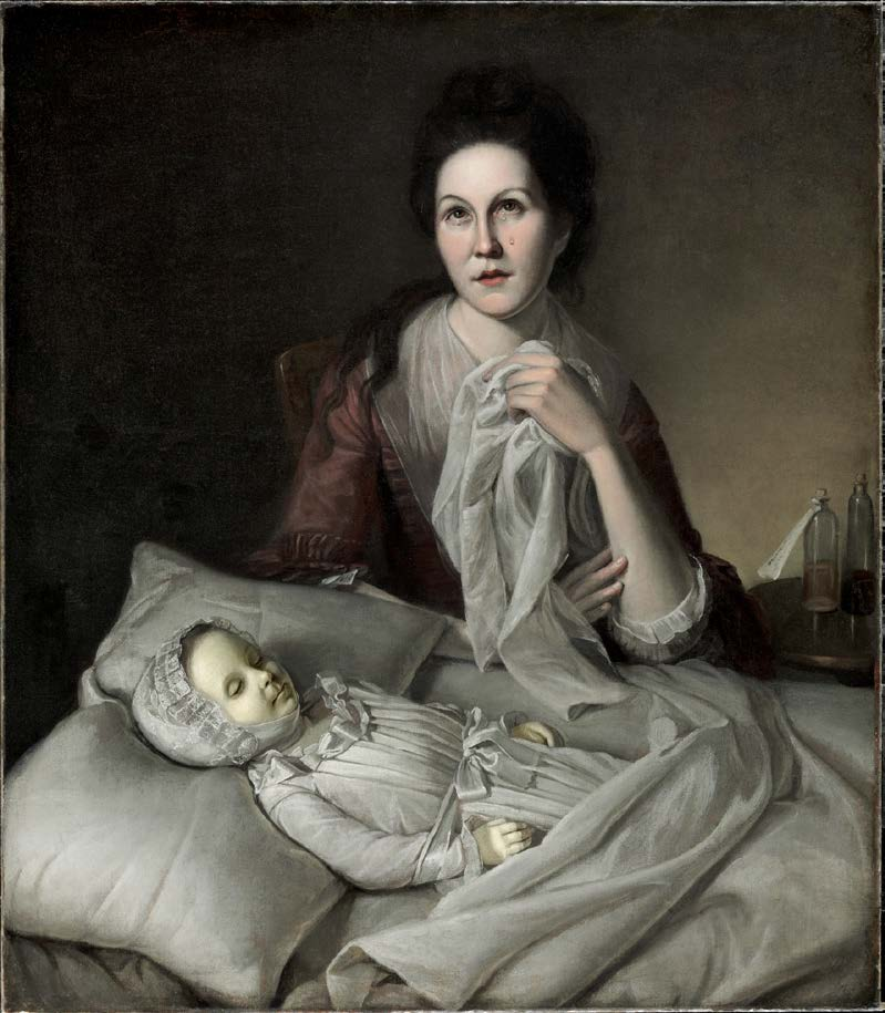 Mrs. Peale Lamenting the Death of Her Child (Rachel Weeping)