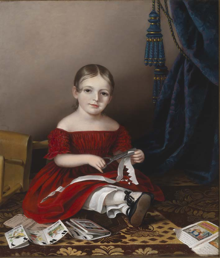 Sarah Miriam Peale's Mary Leypold Griffith, 1841