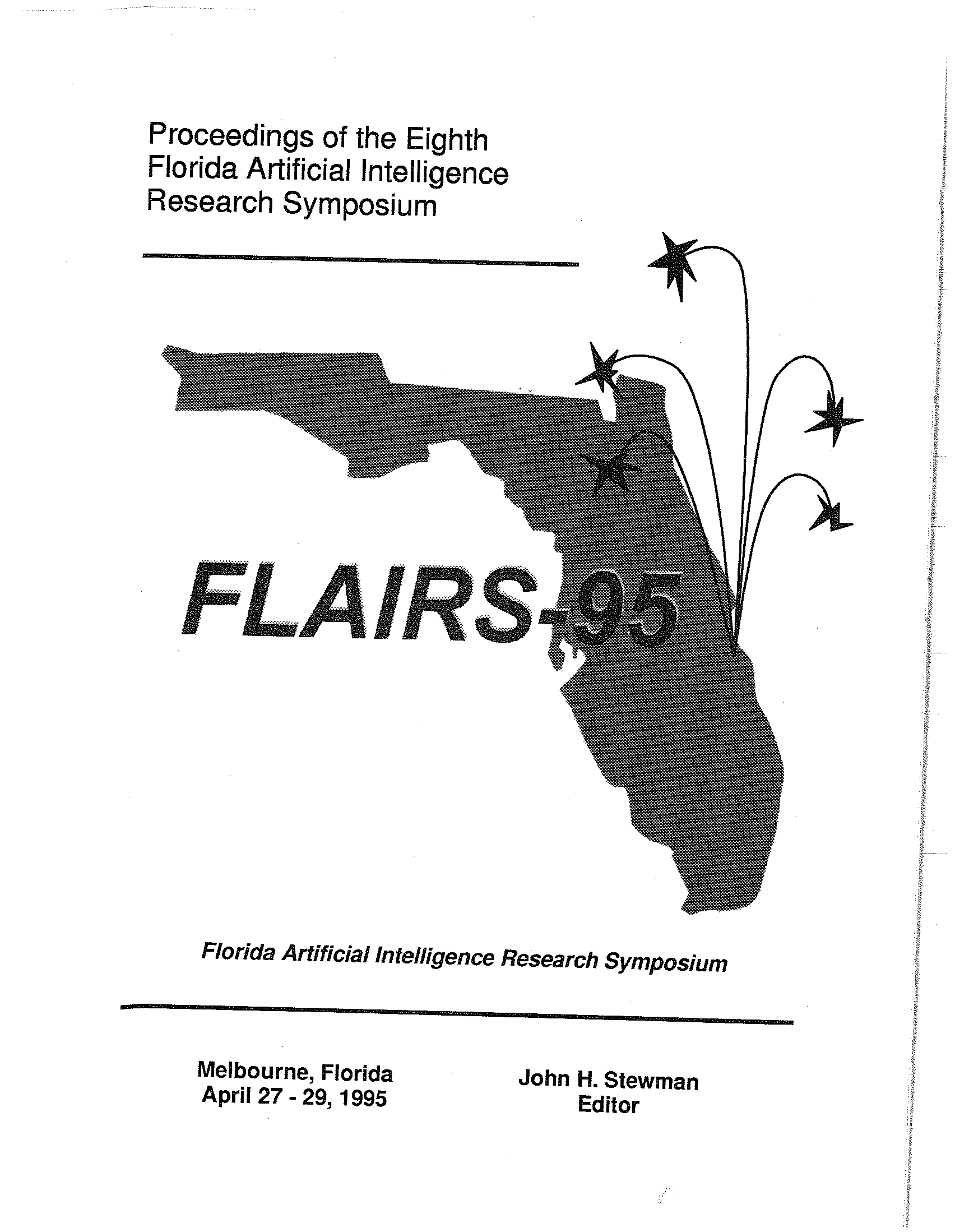 Proceedings of FLAIRS-8, cover