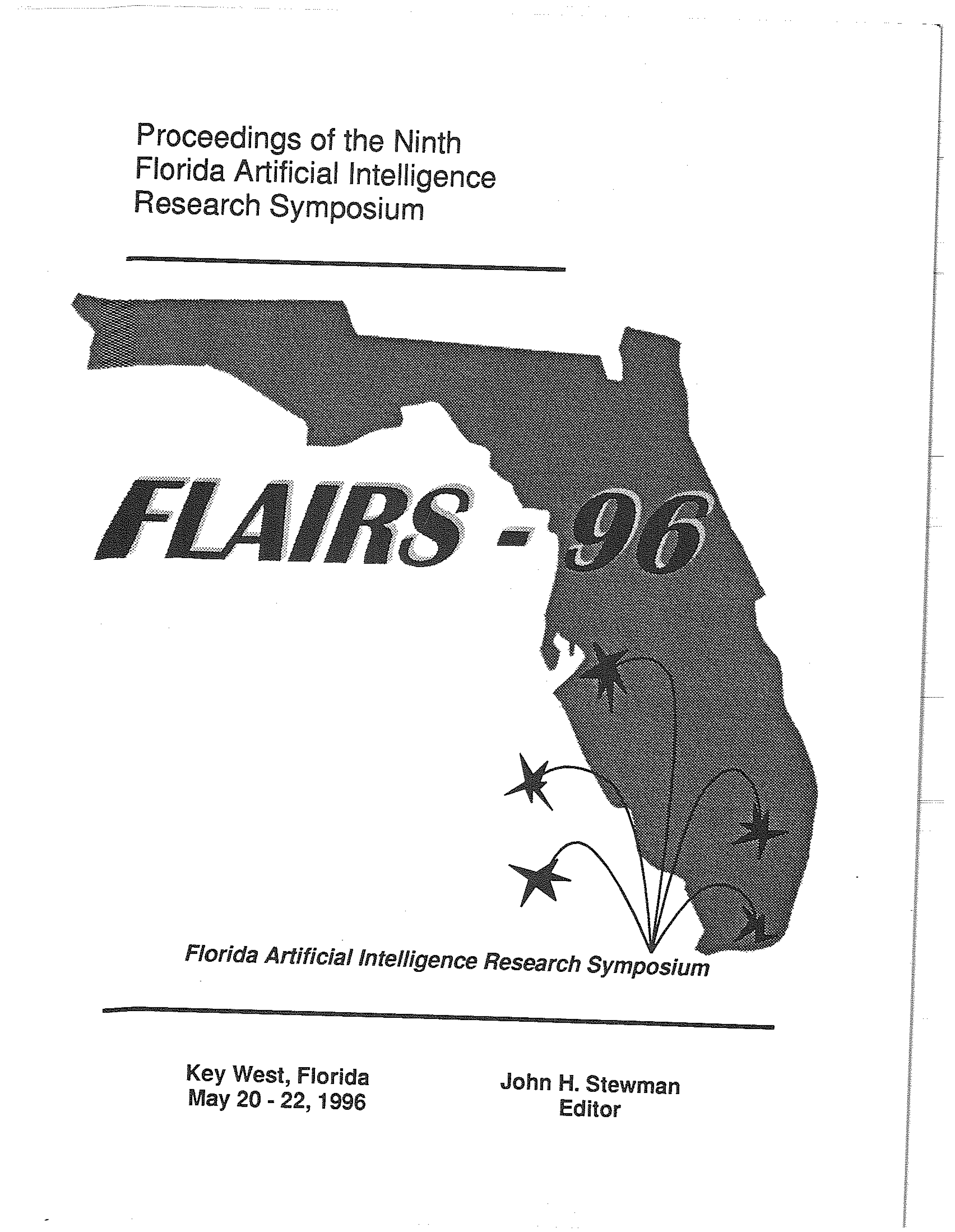 Proceedings of FLAIRS-9, cover
