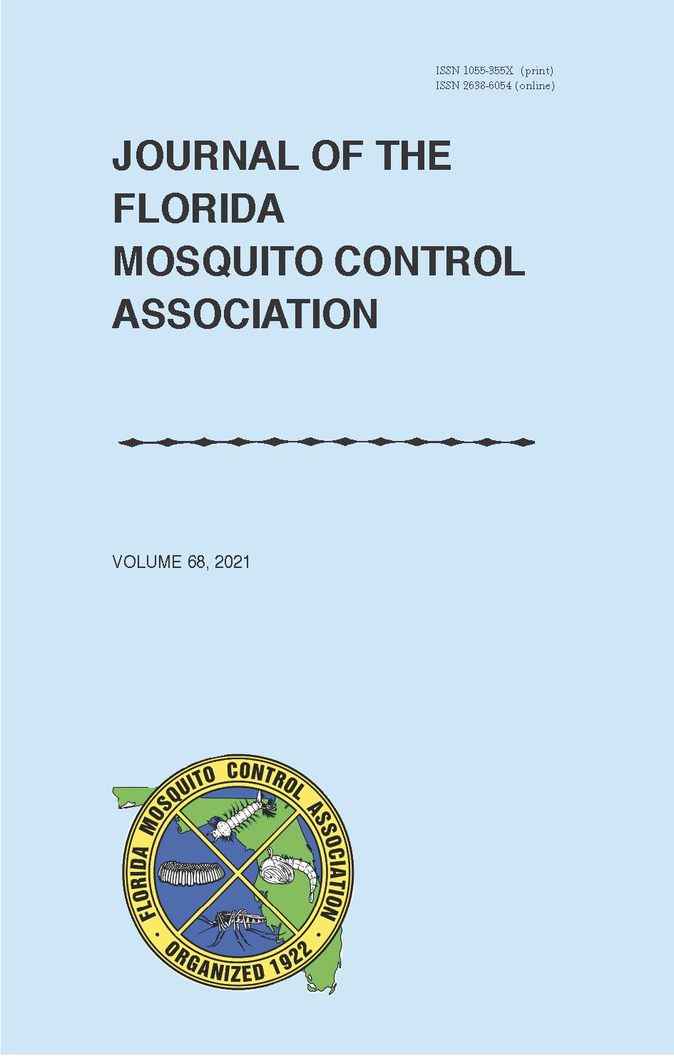 View Vol. 68 No. 1 (2021): Journal of the Florida Mosquito Control Association