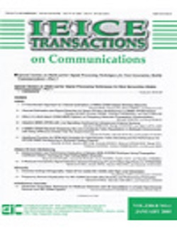 IEICE Transactions on Communications