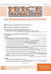 IEICE Transactions on Information and Systems