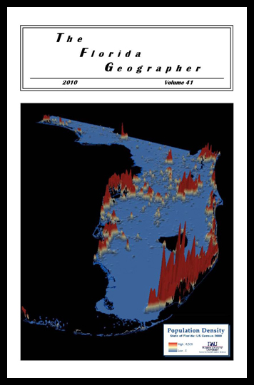 3D Visualization of Population Density in the State of Florida