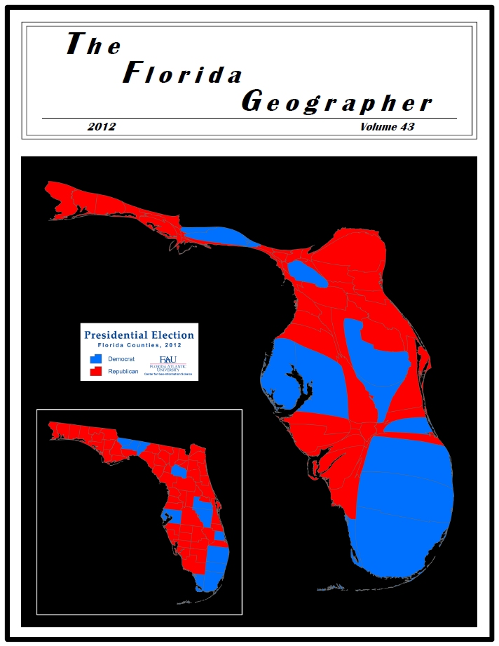 2012 Presidential Election: Florida Cartogram