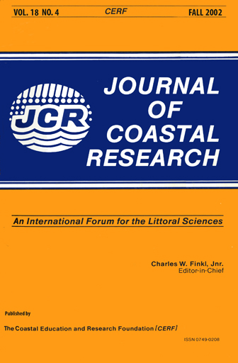 View Vol. 18 No. 4 (2002): Journal of Coastal Research