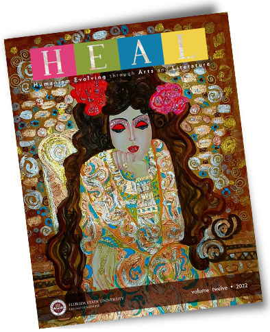 HEAL Volume 8 cover image showing flowers.