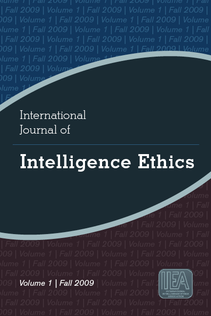 International Journal of Intelligence Ethics