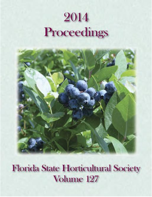 2014 Proceedings Florida State Horticultural Society Volume 127