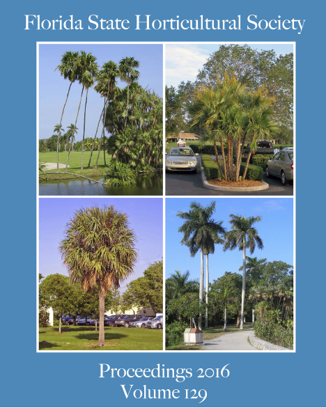 Florida State Horticultural Society Proceedgins 2016 Volume 129