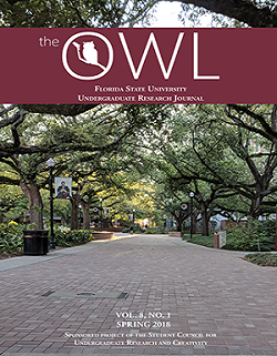 the OWL: Florida State University Undergraduate Research Journal