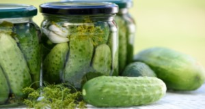 Pickled cucumbers, homemade preserves. Image by Photo Mix from Pixabay