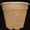 An alternative container made from wood fiber, recycled paper, or cardboard.