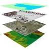 GIS data layers.