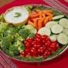 A vegetable platter.