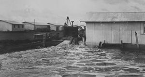 Belle Glade, hurricane of 1928.