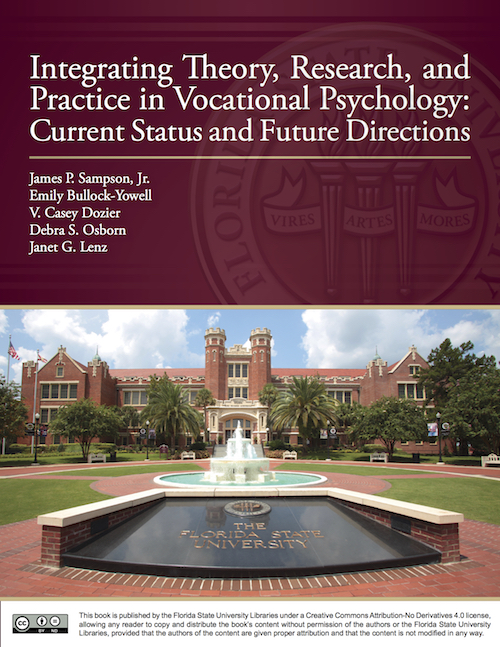 Book cover for Integrating Theory, Research, and Practice in Vocational Psychology: Current Status and Future Directions