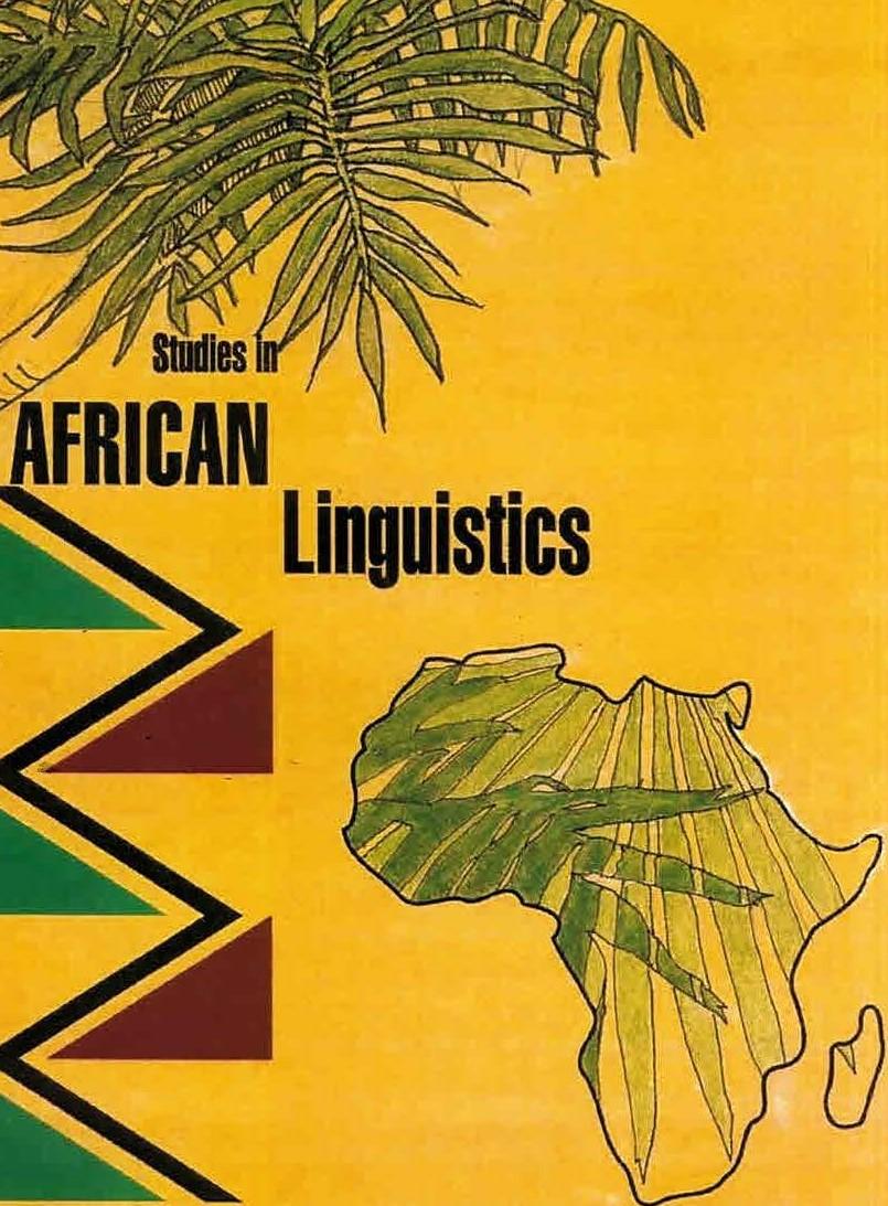 Studies in African Linguistics